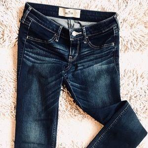 Classic Stretch Mid-Rise Super Skinny Jeans